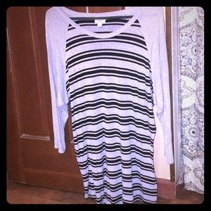 Striped LuLaRoe Shirt